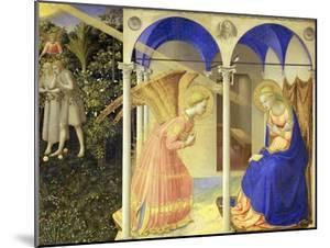 The Annunciation, 1426-1428 by Fra Angelico