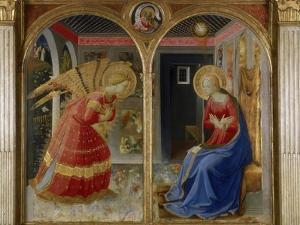 The Annunciation, c.1432 by Fra Angelico