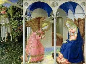The Annunciation, circa 1430-32 by Fra Angelico