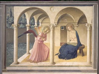 The Annunciation, circa 1438-45