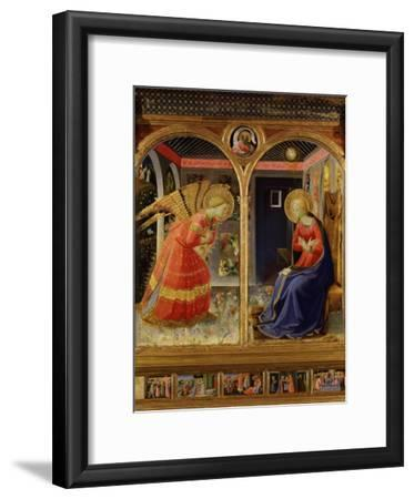 The Annunciation, from C. 1440 Altarpiece of Convent of Montecarlo
