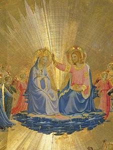 The Coronation of the Virgin, C.1440 by Fra Angelico