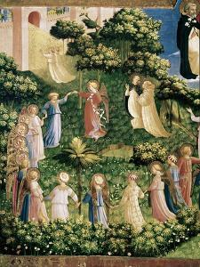 The, Detail Last Judgement by Fra Angelico