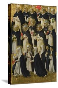 The Dominican Blessed (Panel from Fiesole San Domenico Altarpiec), C. 1423-1424 by Fra Angelico