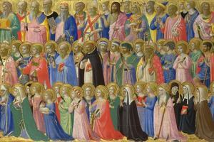 The Forerunners of Christ with Saints and Martyrs, C. 1423-1424 by Fra Angelico