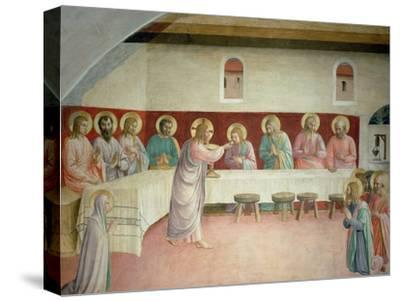 The Holy Communion and the Last Supper by Fra Angelico