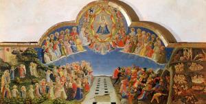 The Last Judgement, Altarpiece from Santa Maria Degli Angioli, circa 1431 by Fra Angelico