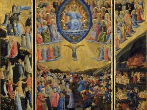 The Last Judgment (Winged Alta), Early 15th C by Fra Angelico