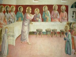 The Last Supper, 1442 by Fra Angelico