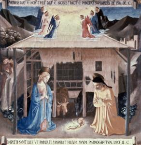 The Nativity by Fra Angelico