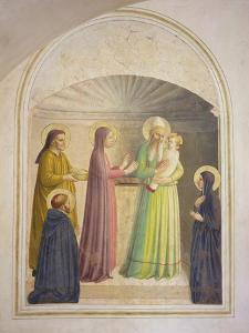 The Presentation in the Temple, 1442 by Fra Angelico