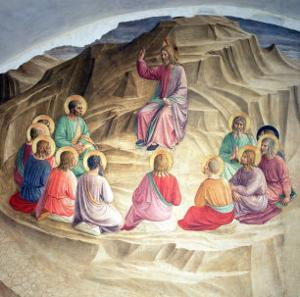 The Sermon on the Mount, 1442 by Fra Angelico
