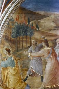 The Stoning of St Stephen, Mid 15th Century by Fra Angelico