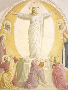 The Transfiguration, 1442 by Fra Angelico