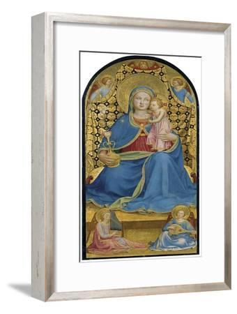 The Virgin of Humility (Madonna Dell' Umilit), C. 1433-1434