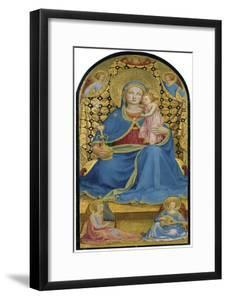 The Virgin of Humility (Madonna Dell' Umilit), C. 1433-1434 by Fra Angelico