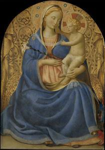 The Virgin of Humility (Madonna Dell' Umilit), C. 1440 by Fra Angelico
