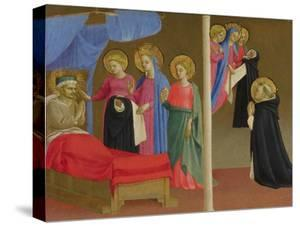 The Vision of the Dominican Habit, Ca 1435 by Fra Angelico