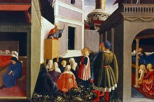 The Vocation of St Nicholas, 1437 by Fra Angelico