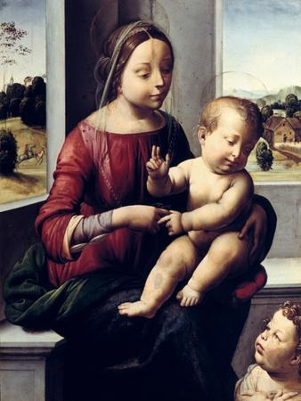 Madonna and Child with the Young Saint John the Baptist, C1497