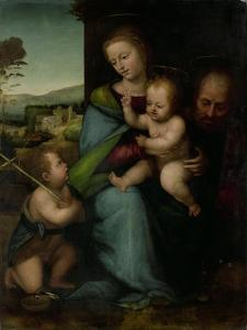 Holy Family with the Infant John the Baptist by Fra Bartolommeo