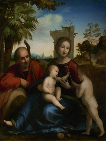The Rest on the Flight into Egypt with St. John the Baptist, c.1509