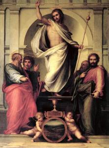 The Resurrection of Christ by Fra Bartolommeo