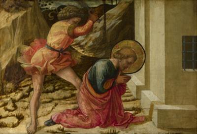 Beheading of Saint James the Great (Predella Panel of the Pistoia Santa Trinità Altarpiec), 1455-60