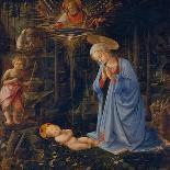 Madonna Worshipping the Child, about 1459-Fra Filippo Lippi-Giclee Print