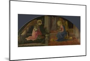 The Annunciation (Medici Pane), C. 1450 by Fra Filippo Lippi