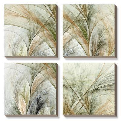 Fractal Grass-James Burghardt-Canvas Art Set