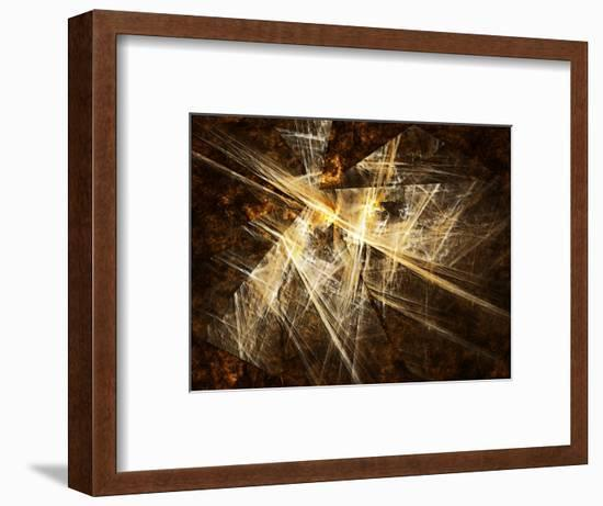Fractal Light III-Alan Hausenflock-Framed Photographic Print