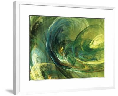 Fractal Light IV-Alan Hausenflock-Framed Photographic Print