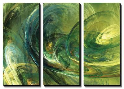 Fractal Light IV-Alan Hausenflock-Canvas Art Set