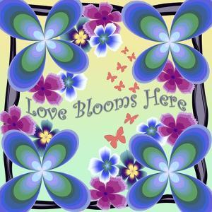 Love Blooms Here by Fractalicious
