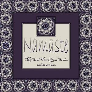 Namaste by Fractalicious