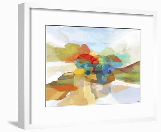 Fracture II-Michael Tienhaara-Framed Giclee Print