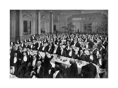 The Alma Tadema Banquet, 1899