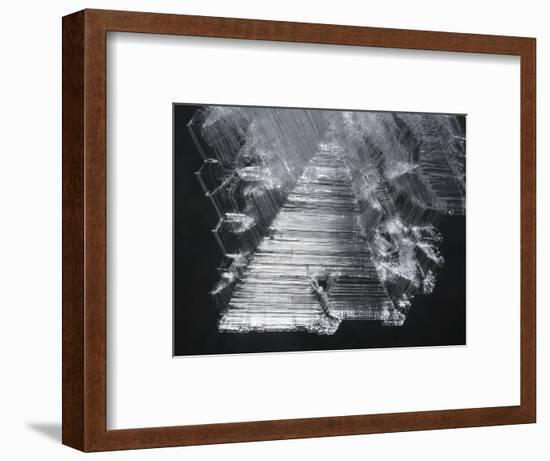 Fragile Ice Crystals Hang in Warren Cave-Peter Carsten-Framed Photographic Print