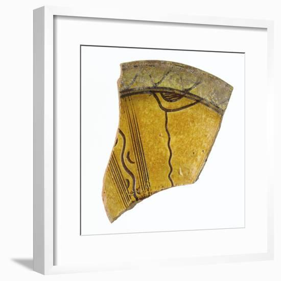 Fragment d'une aile de coupe--Framed Giclee Print
