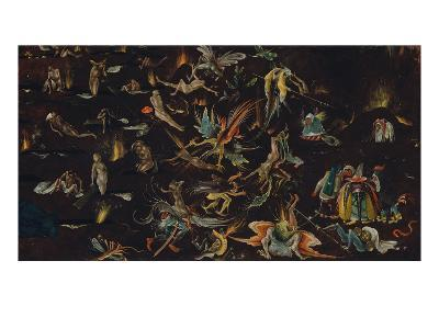 Fragment of a Depiction of the Last Judgement-Hieronymus Bosch-Giclee Print