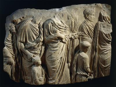 Fragment of Ara Pacis Augustae--Giclee Print