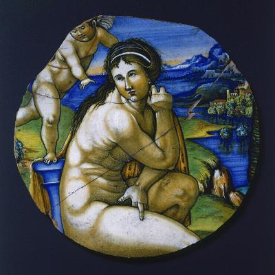 Fragment of Plate with Figure of Venus, 1530--Giclee Print