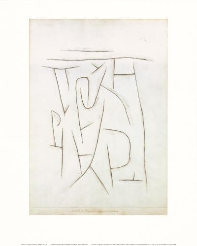Fragments of the Area from Long Ago, c.1937-Paul Klee-Art Print