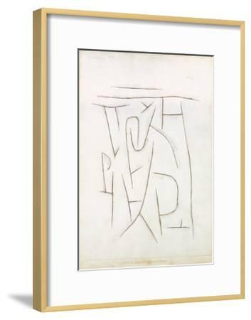 Fragments of the Area from Long Ago, c.1937-Paul Klee-Framed Art Print