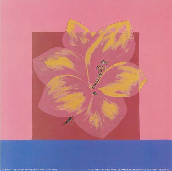 Fragrance III-Alie Van de Velde-Art Print