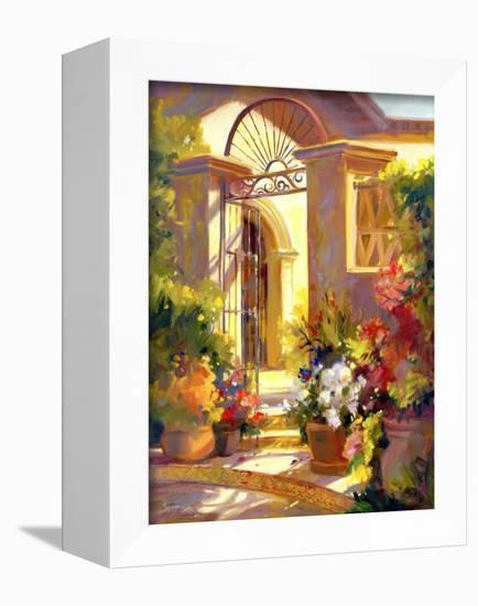 Fragrant Entrance-Betty Carr-Framed Stretched Canvas Print