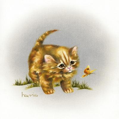 Fraidy Cat-Peggy Harris-Giclee Print