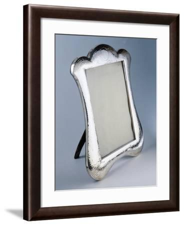 Frame in Silver Hammered Sheeting, Birmingham 1904--Framed Giclee Print