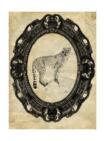 Framed Cheetah-THE Studio-Premium Giclee Print